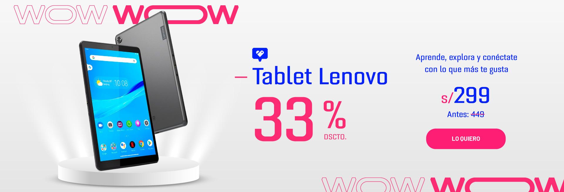 Tablets en descuento, tablet en oferta tablet lenovo descuento